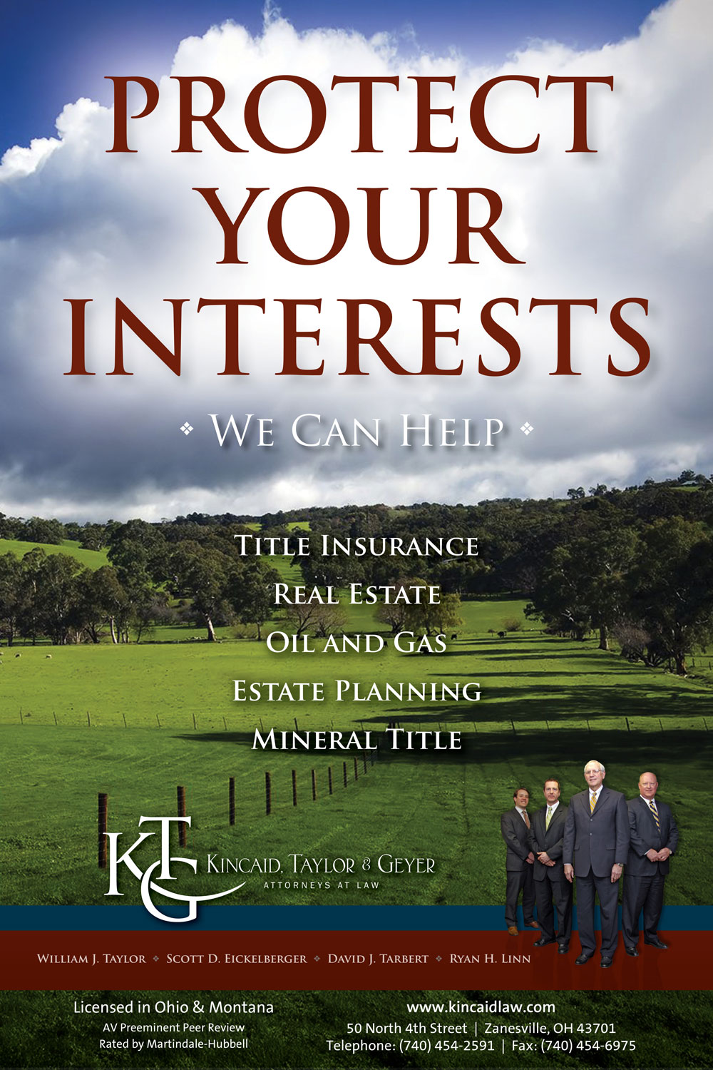 Kincaid Taylor Geyer Title Insurance Real Estate Estate Planning Mineral Title Attorneys Zanesville Ohio